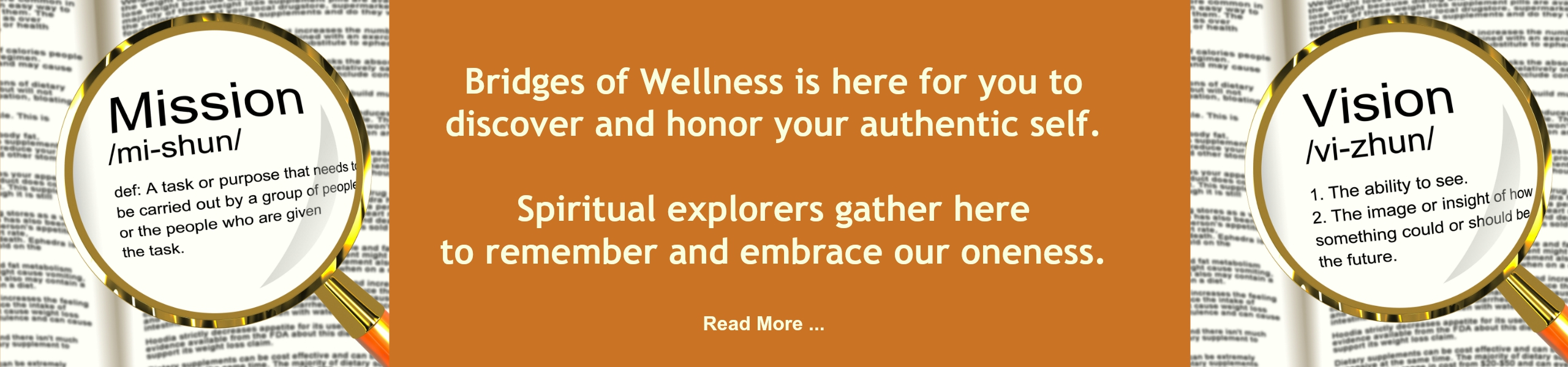 Bridges of Wellness Our Mission