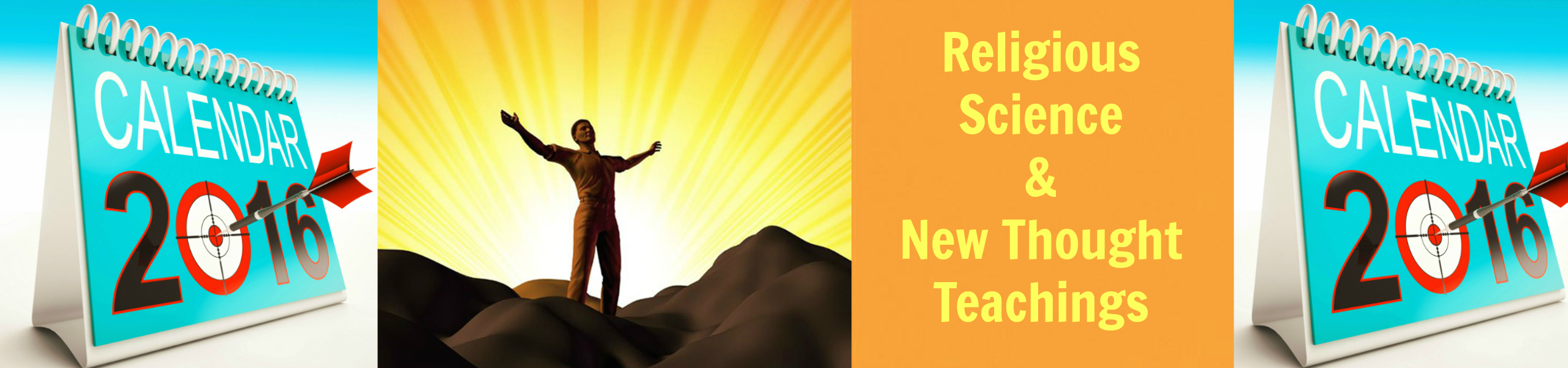 religious science-new thought newsletter header