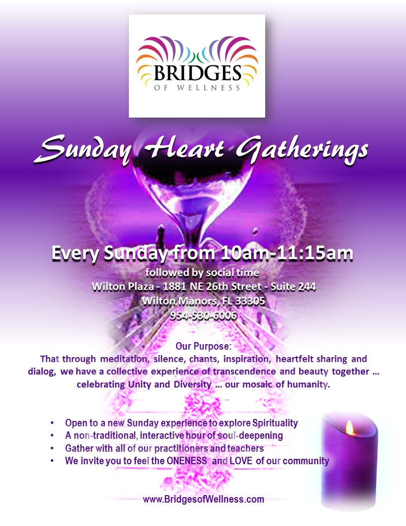 Sunday Heart Gatherings